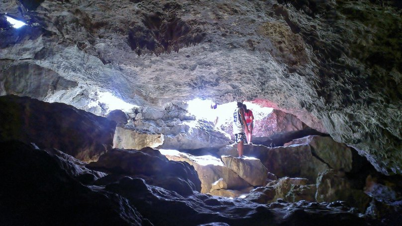 Hydra Cave in Tamiao, Bantayan