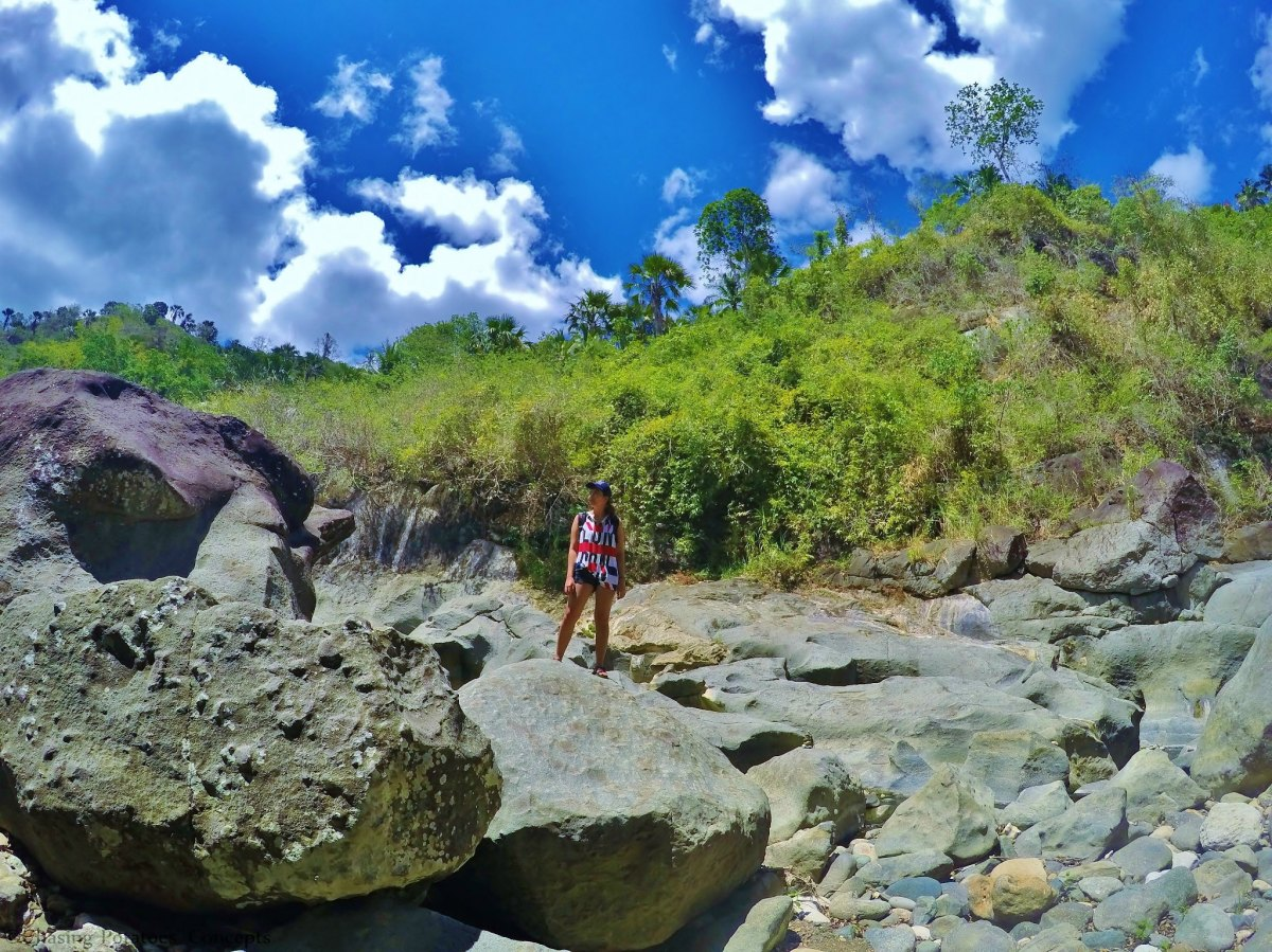 The Trekking Feat in Mulao River of Compostela, Cebu