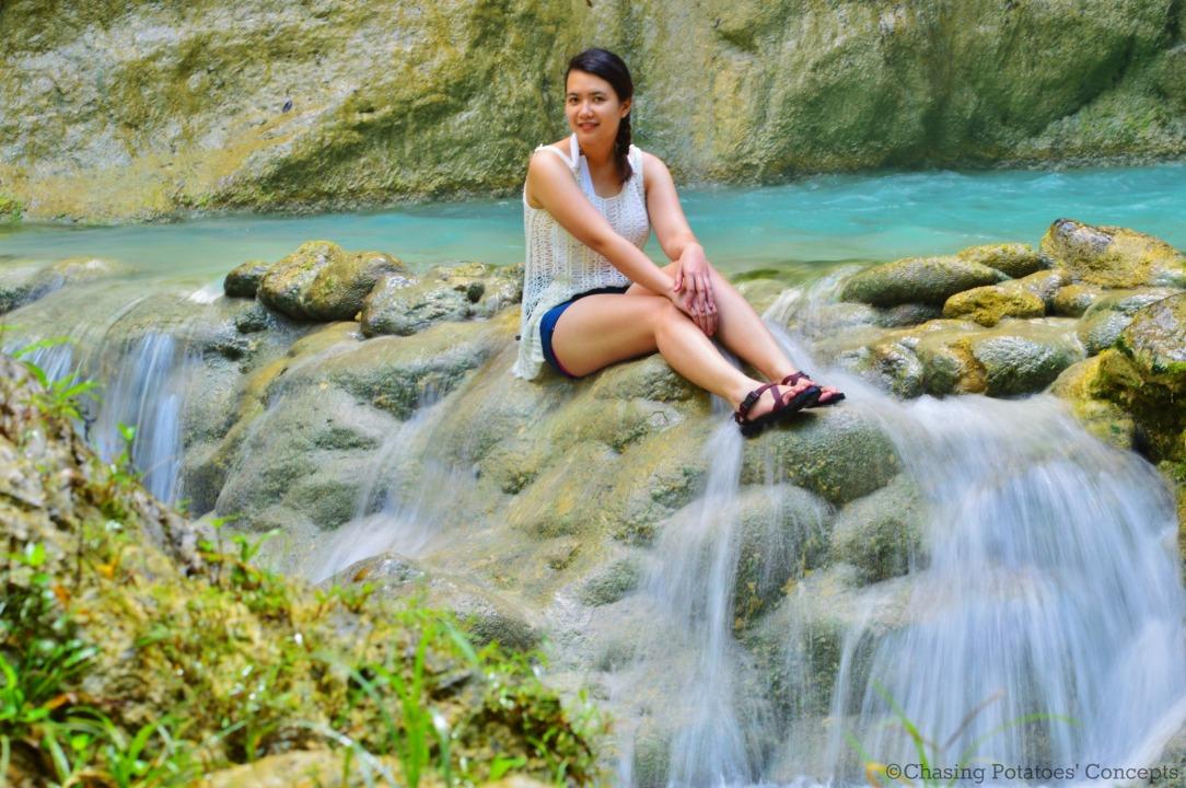 Inambakan Falls and I (2)