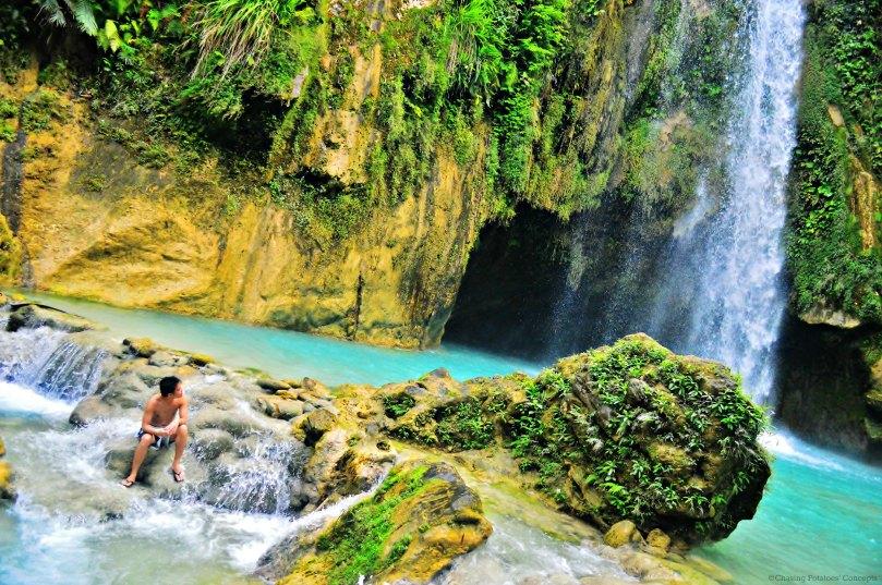 Look UP (Inambakan Falls)