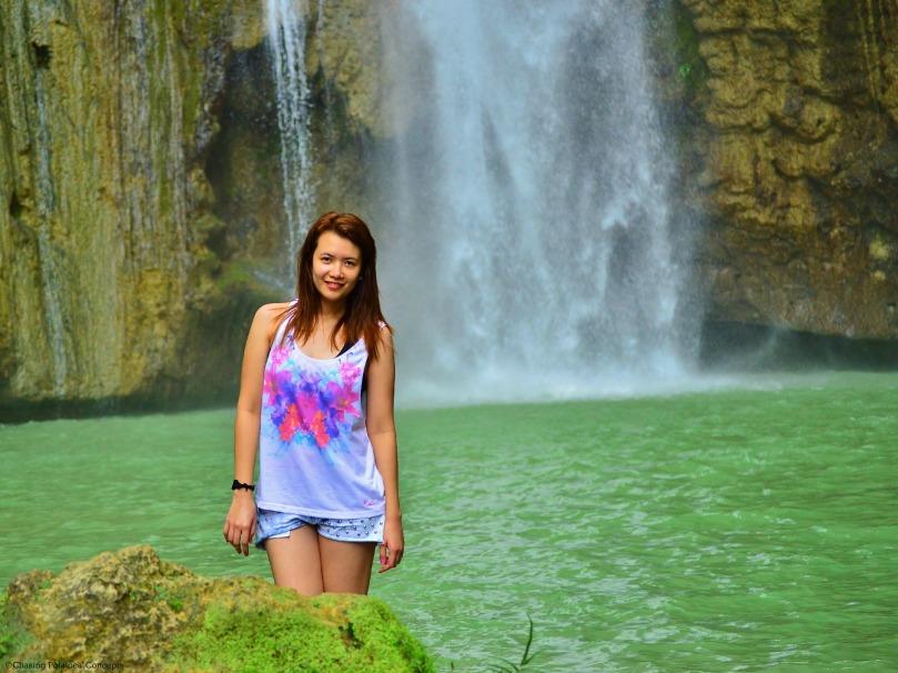 Mantayupan Falls and I