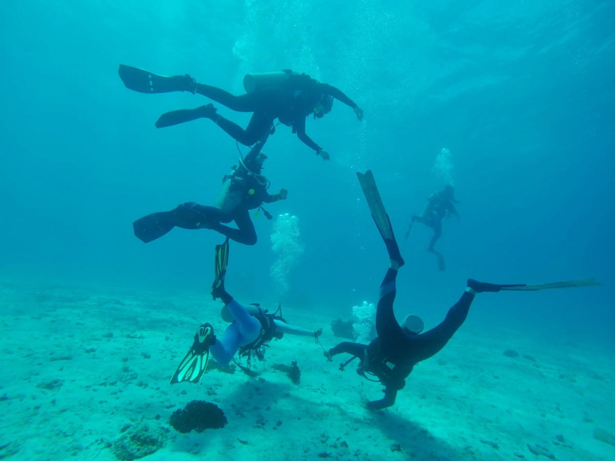 Diving Underneath the Blue Waters of SumilonIsland