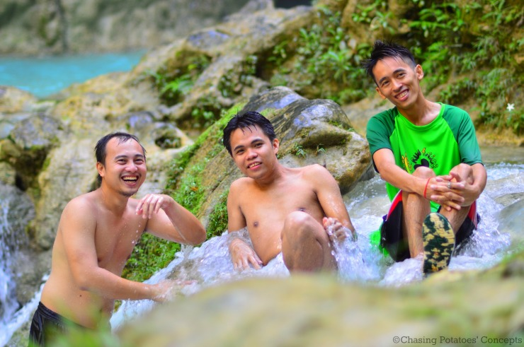 The 3 Lads in Inambakan Falls