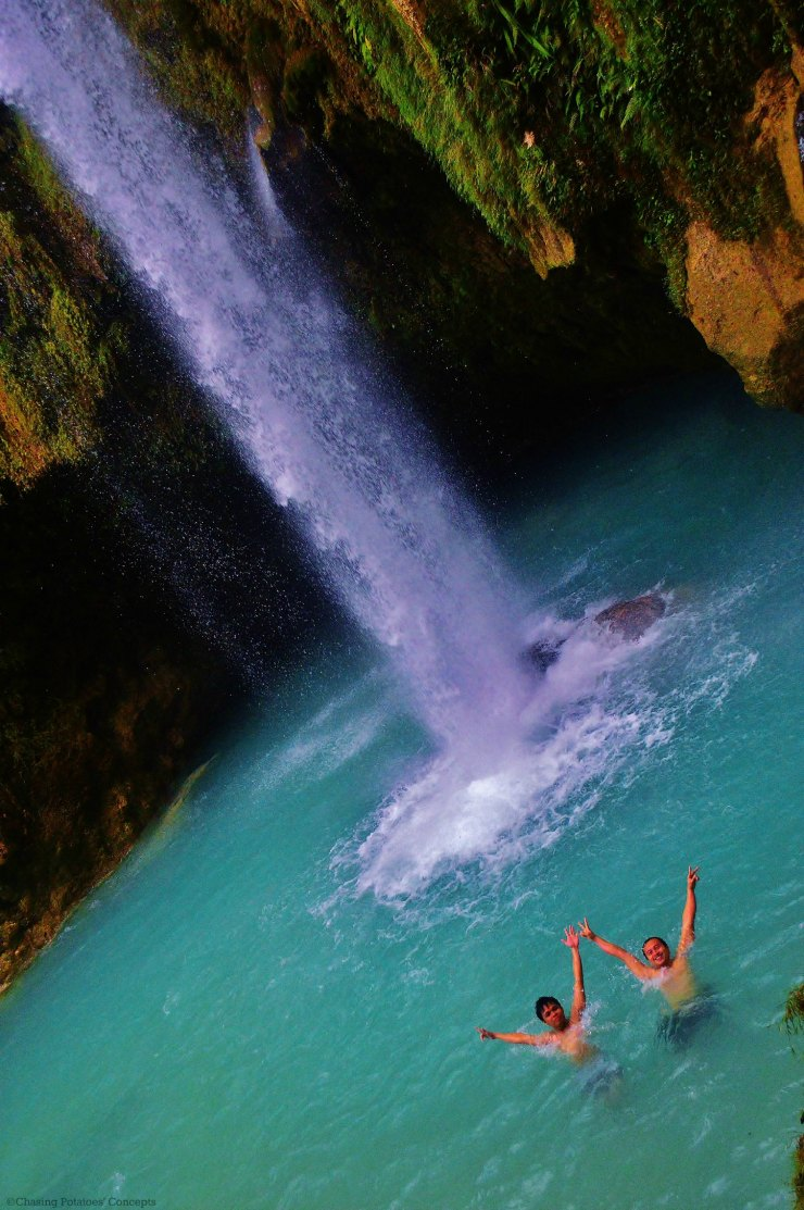 W means WOW (Inambakan FAlls)