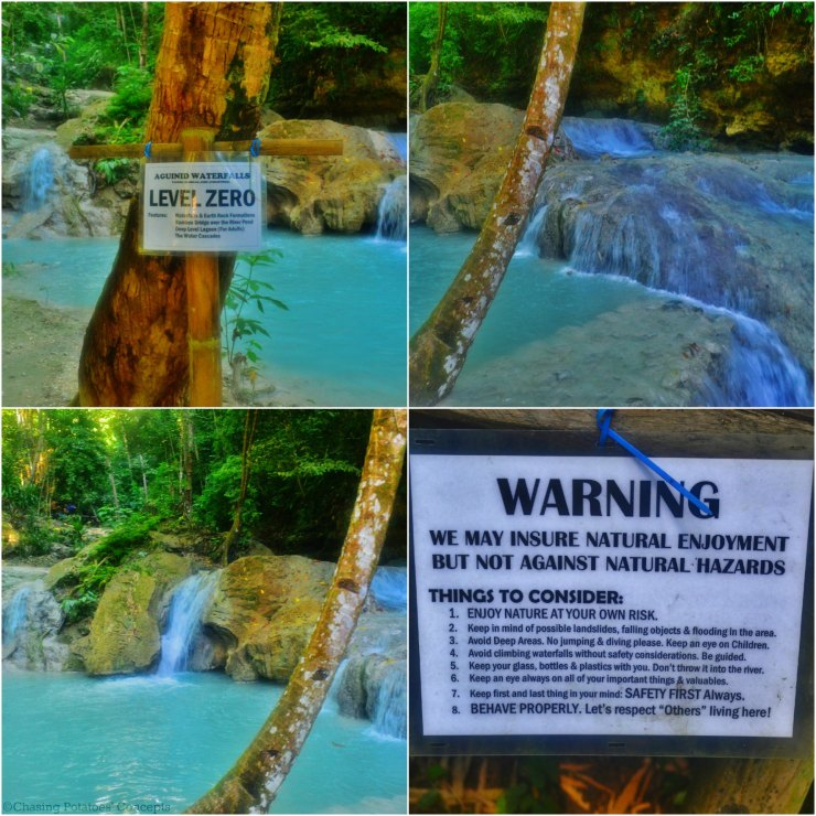 Level 0 of Aguinid Falls