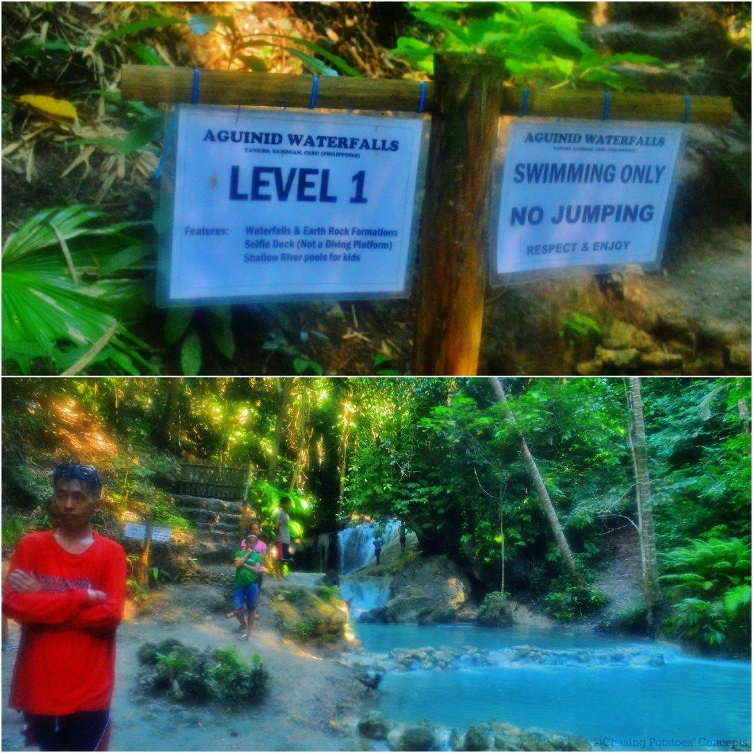 Level 1 of Aguinid Falls
