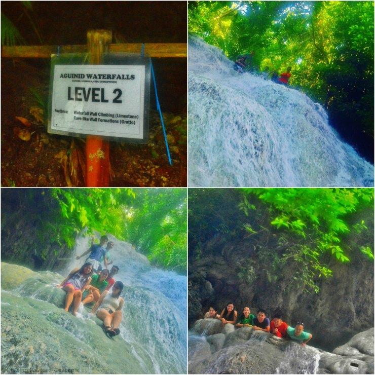 Level 2 of Aguinid Falls