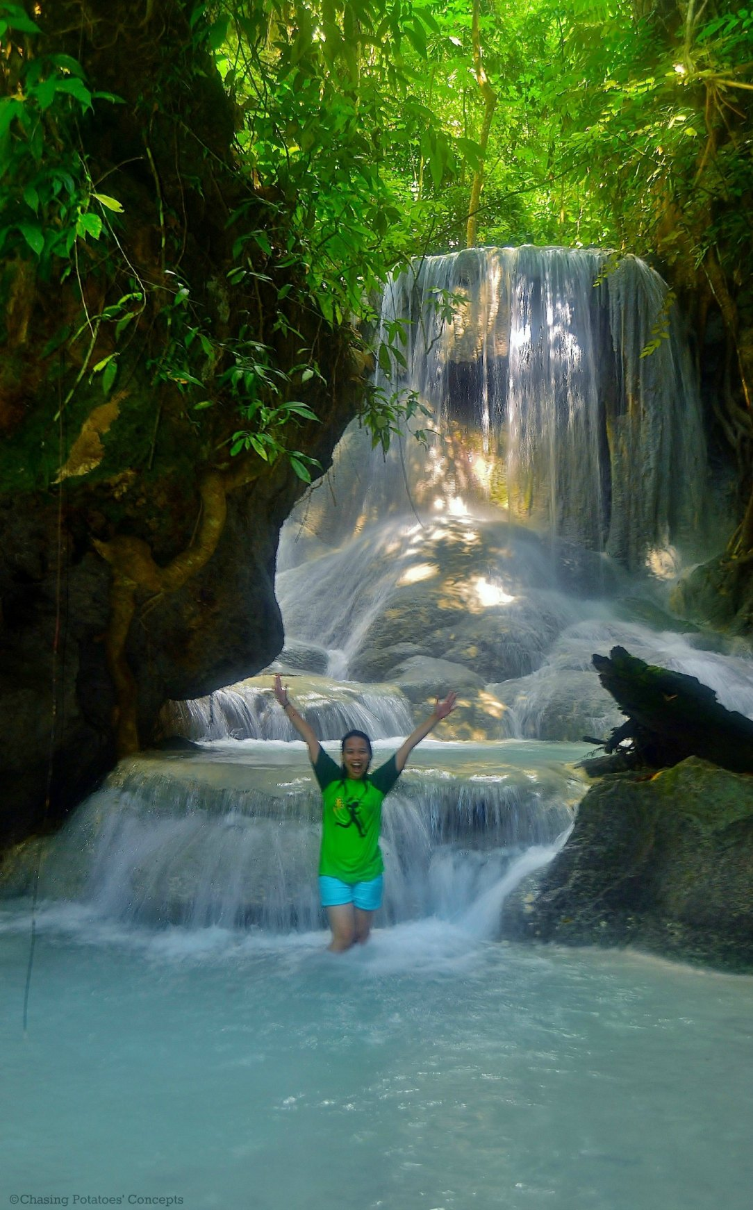 Level 3 of Aguinid Falls and My FAVe