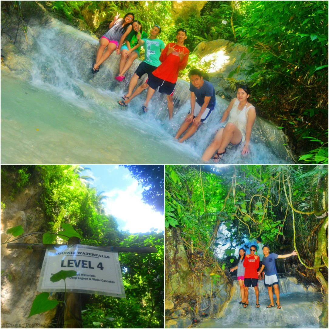 Level 4 of Aguinid Falls