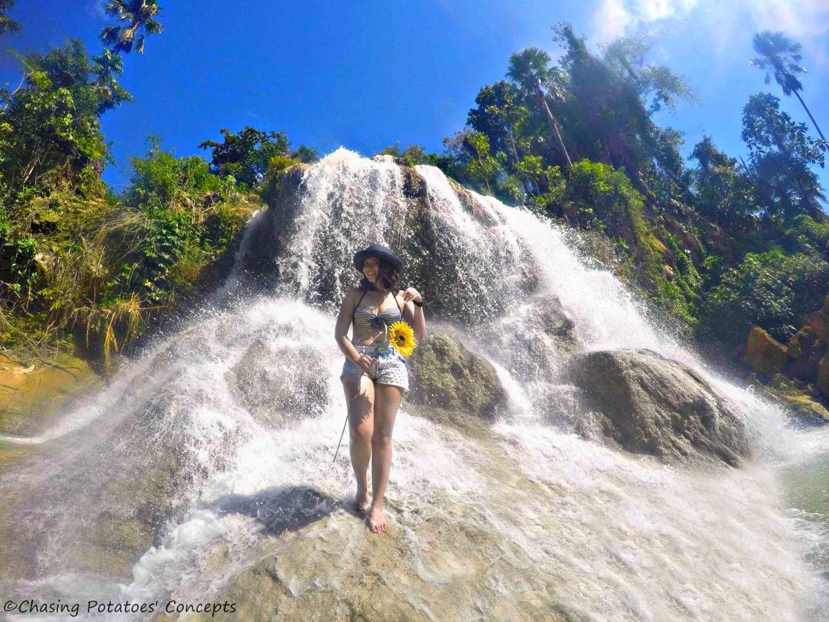 Lusno  Falls : A Hidden Paradise in the Midst of Two Towns