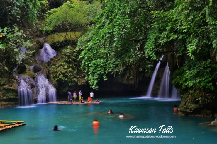 Second Level of Kawasan Falls