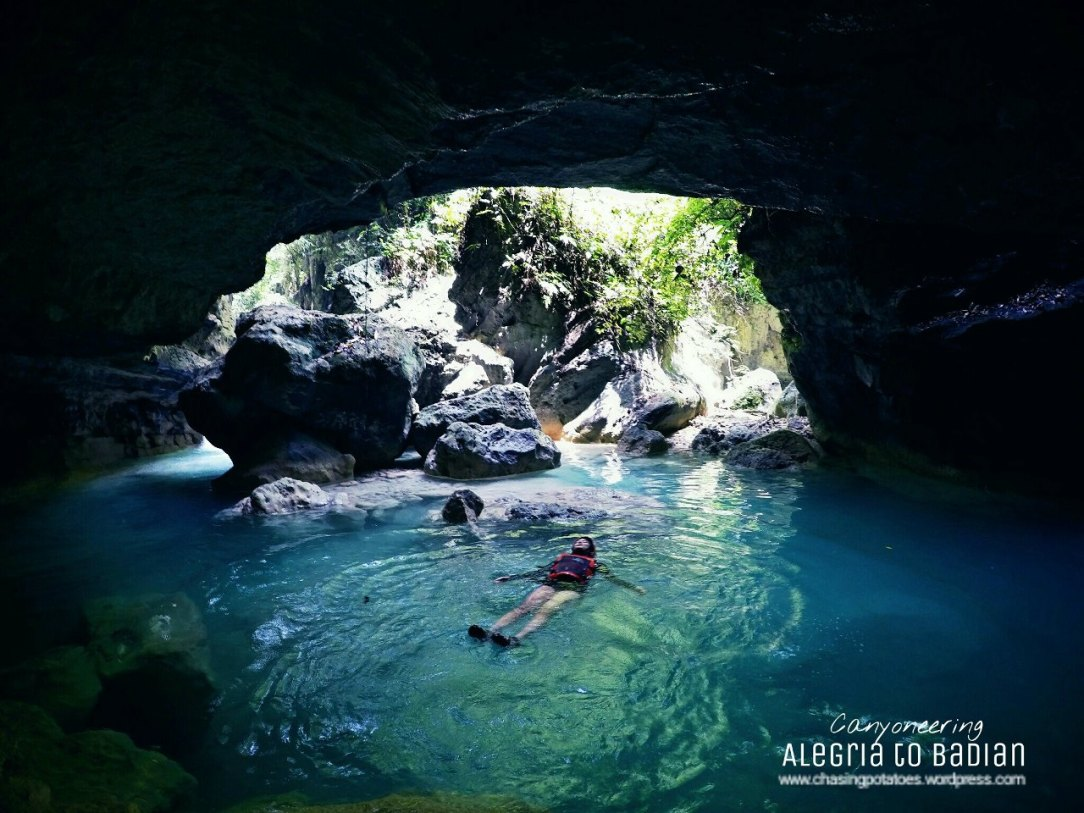 20. Swim in a cave.