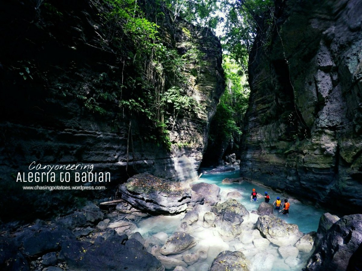 33 Still and Moving Photos That Will Probably Entice You to Try or Try Again Canyoneering from Alegria toBadian