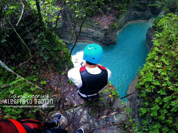 9. Jump into fifty-foot heart-shaped river.