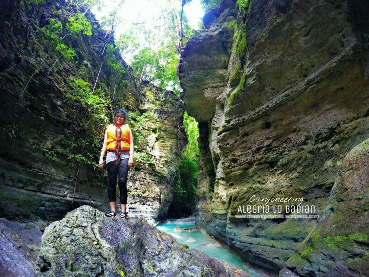 28. Be astounded with people who fears a lot yet survived canyoneering.