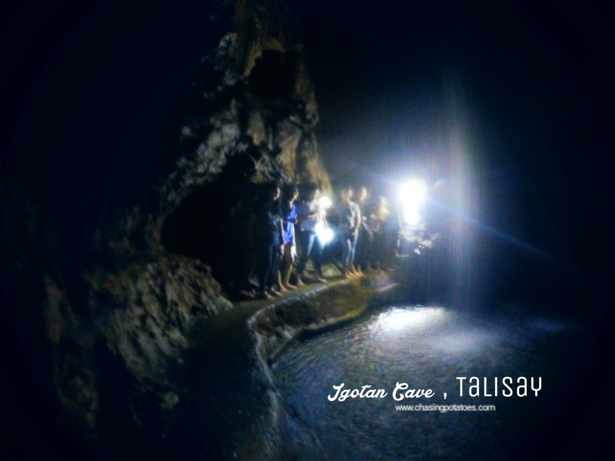 Igotan Cave : Spelunking and Chasing Waterfalls in the City of Talisay for Just100.00