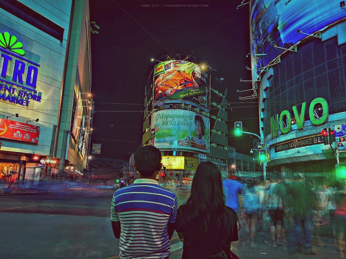 Night Mobile Photography: Seven Picture-Worthy Places in Cebu City Captured at Night Plus a Bit of Surprise